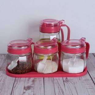 厨房用品玻璃油壶调料盒